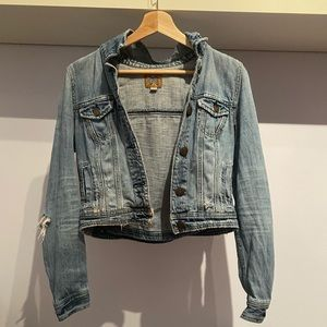 🌹4/16🌹Cropped Jean denim jacket